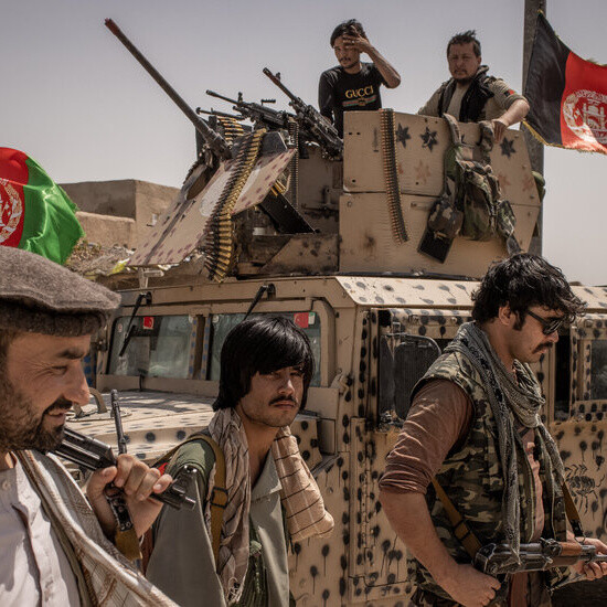 Afghanistan Returns to Militias, and an Old, Chaotic Path