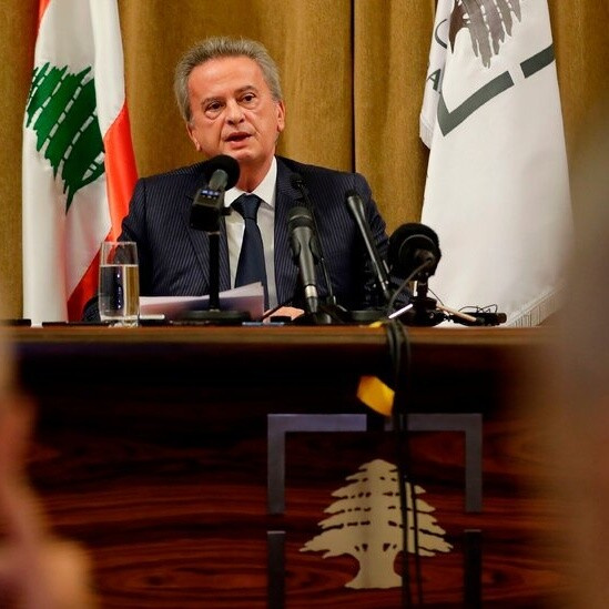 As Lebanon Collapses, the Man With an Iron Grip on Its Finances Faces Questions