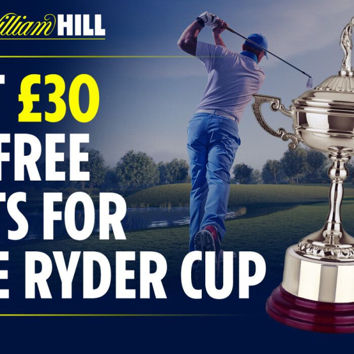 Ryder Cup betting offer: Get £30 in FREE BETS for Whistling Straits with William Hill