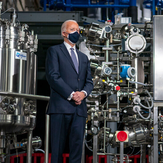 President Biden pledges investment in vaccine components, but will that help the world?