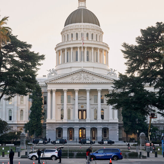 California's State Capitol Resumes Masking After Outbreak