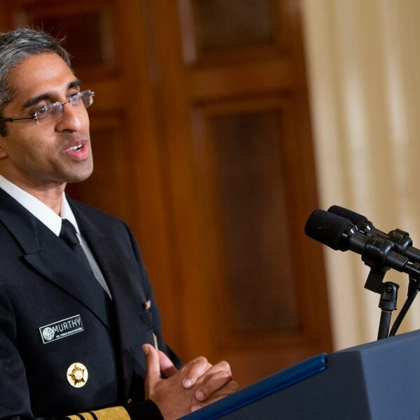 Surgeon General Murthy says the Biden administration's COVID-19 vaccine mandate for employers is 'legal' and 'appropriate'