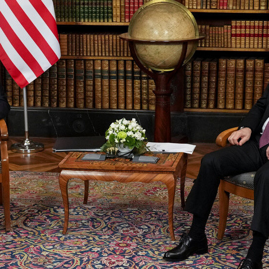 Russian and U.S. leaders meet in a high-stakes summit.
