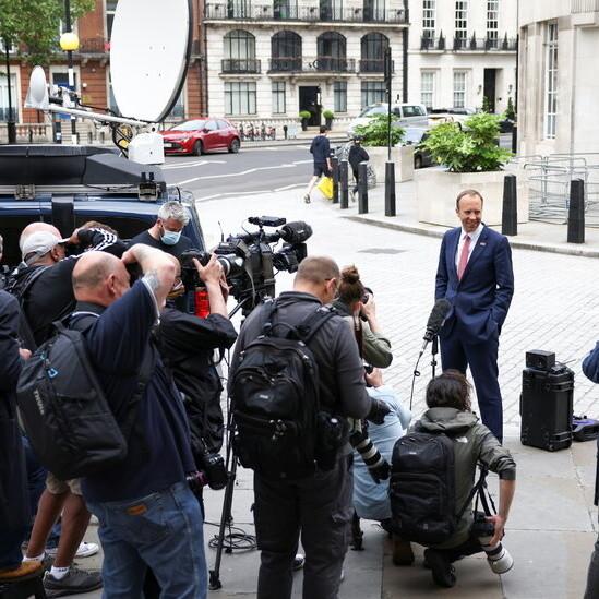 Boris Johnson Called U.K. Health Secretary 'Hopeless' in Leaked Texts