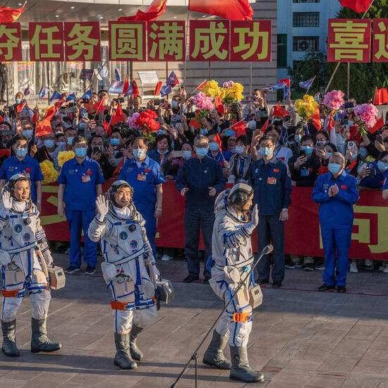 As Astronauts Dock, China Takes Up Long-Term Residence in Orbit
