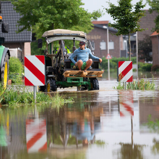 New evacuations are ordered in Germany, even as other residents return home after the floods.