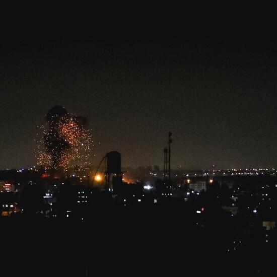 Israel Strikes Gaza Again, After Militants Set Fires in Israel