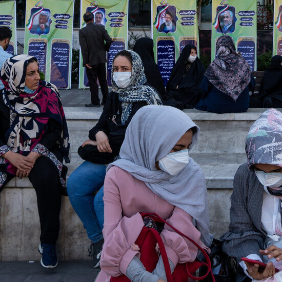 Many Expected to Shun Iran Vote Seen as Presidential Race of One