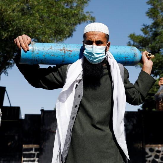 U.S. Embassy in Kabul Locks Down Amid Covid Outbreak
