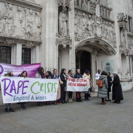U.K. Justice System Has Failed Rape Victims, Government Says