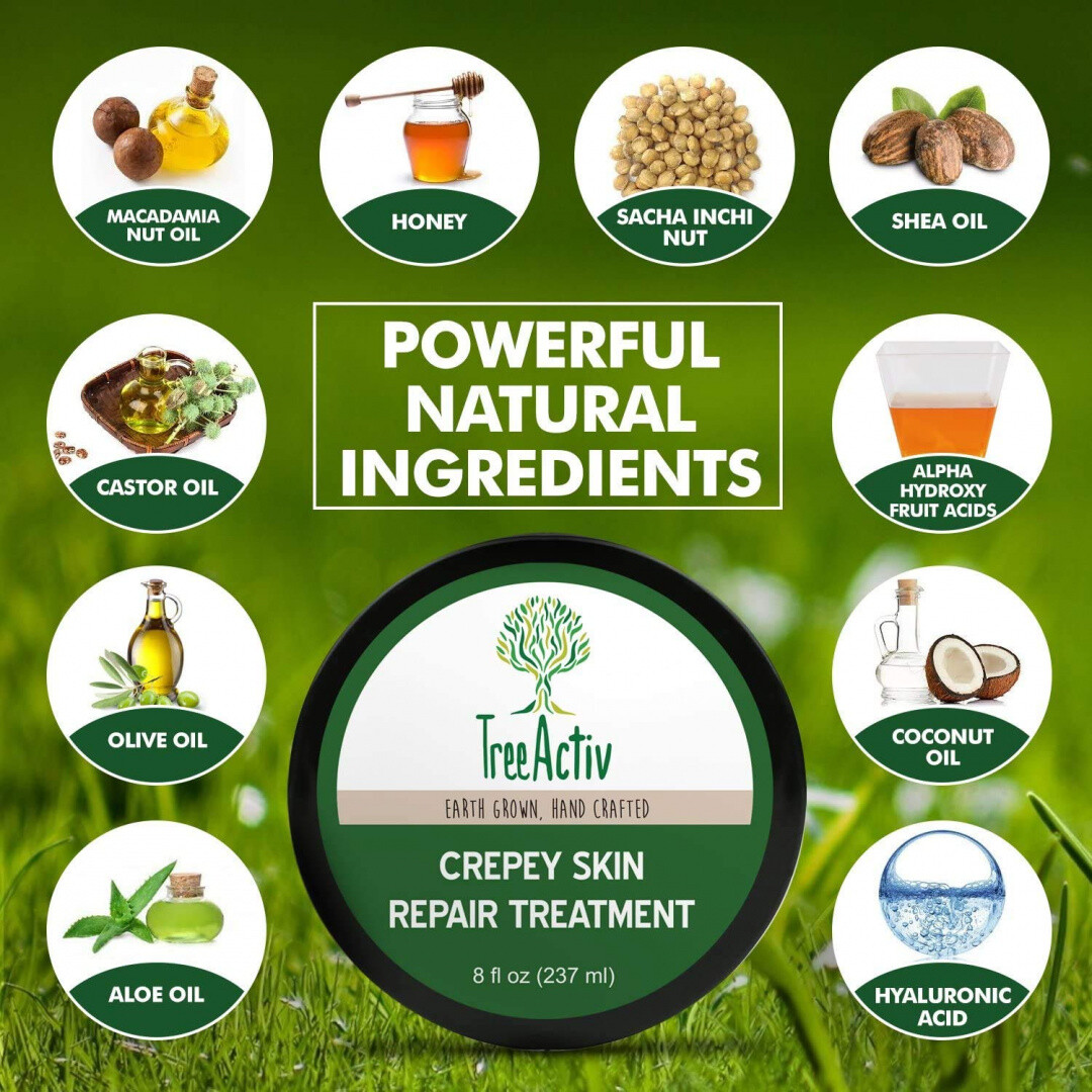 How to prevent and improve crepey skin