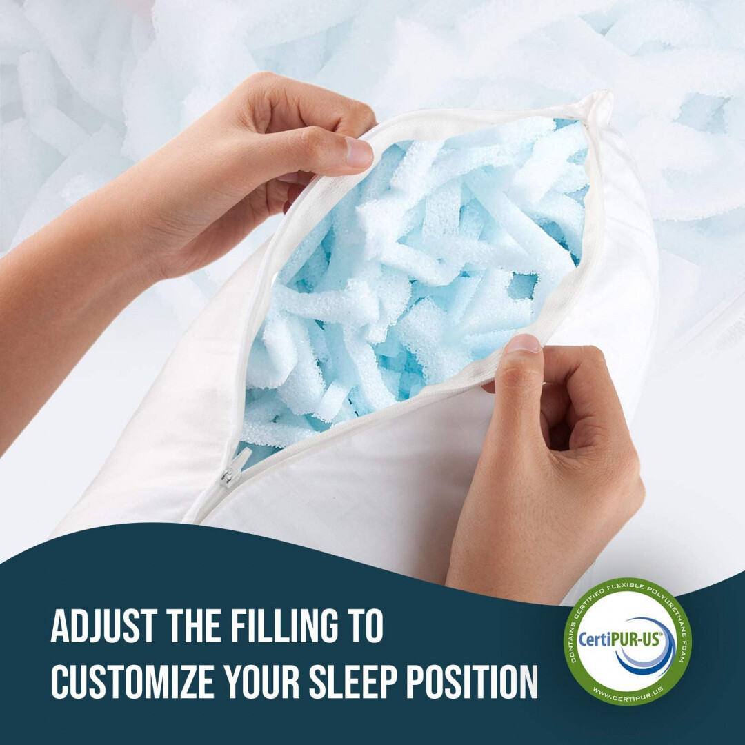 How long should you keep a memory foam pillow?