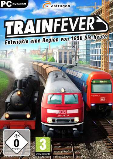 Train Fever Download Free PC Full Version