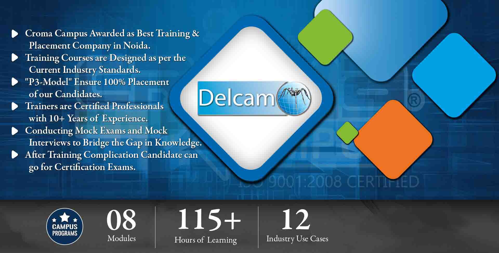 What are the benefits of the Delcam Training?