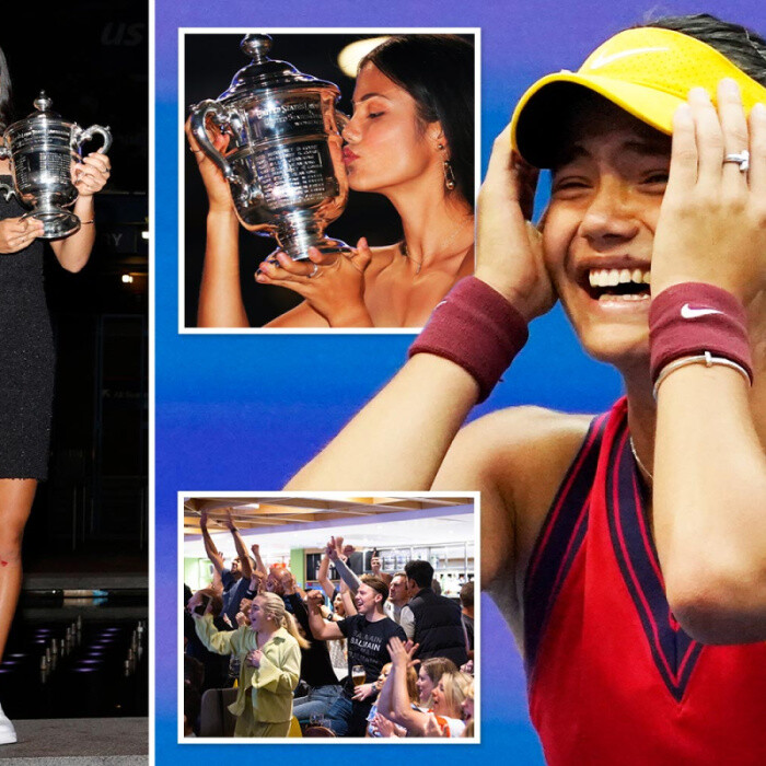 Emma Raducanu booked to visit gran in China this weekend as she didn't think she'd win US Open