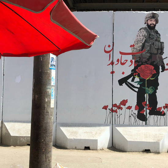 A Journey Through Kabul, Afghanistan on the Day of the Fall