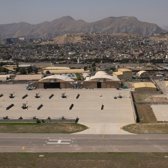 As the U.S. Pulls Out of Afghanistan, Kabul's Airport Is a Final Stand