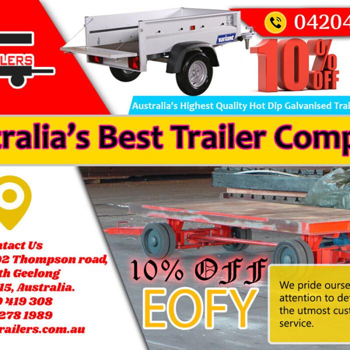 Geelong Trailers   Custom Tradesman Trailer Booking   Dial - 0420419308
