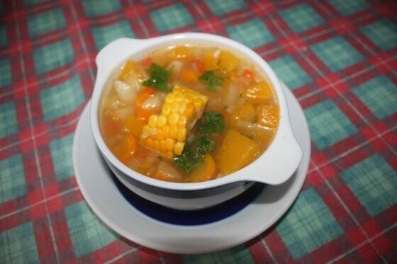 Una deliciosa sopa para este domingo