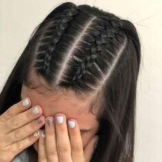 Peinado ideal para ir al un cumpleaños