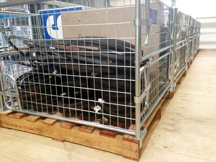 Wire Mesh Pallet Cages – Get the Containers to Make Storage Easy