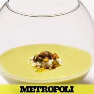 Gazpacho verde, la versión de Nino Redruello del plato más clásico del verano