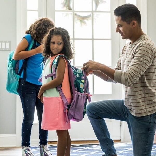 Police departments are warning parents not to post detailed back-to-school photos of their kids