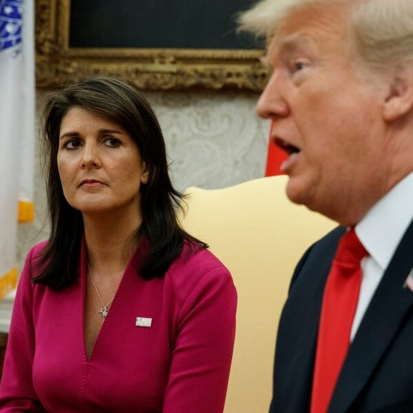 Trump says rumored 2024 GOP candidate Nikki Haley 'criticizes me' then 'uncriticizes me about 15 minutes later'