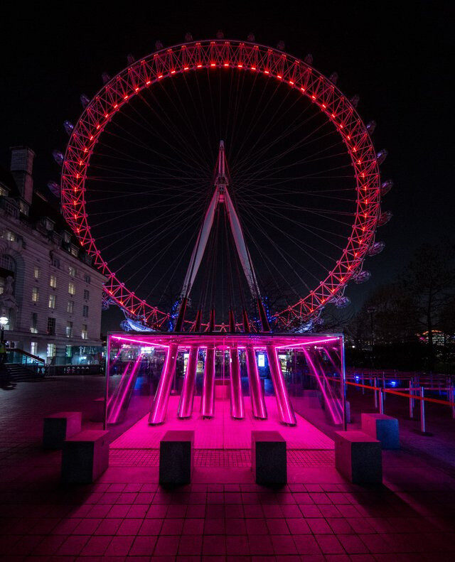 London Eye last night