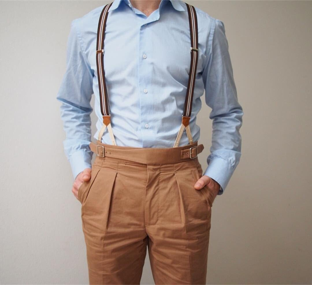 Using Male Suspenders The Right Way