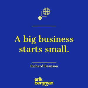 What Does A Big Business Starts Small Means  ・ by HOTNEWS ・ Mamby