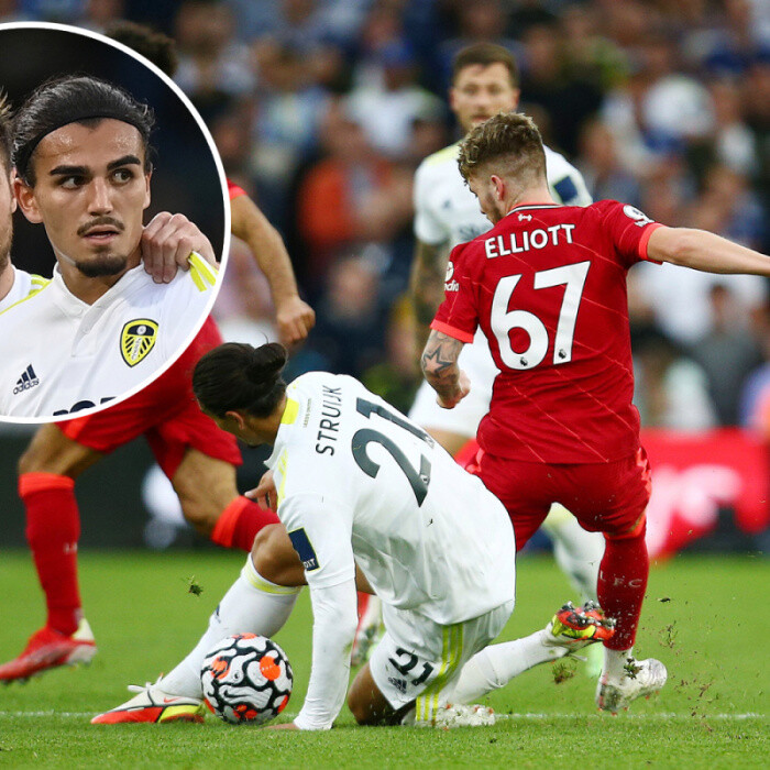 Leeds lose Pascal Struijk red card appeal with Harvey Elliott immediately calling it 'wrong' and saying 'sorry' to rival
