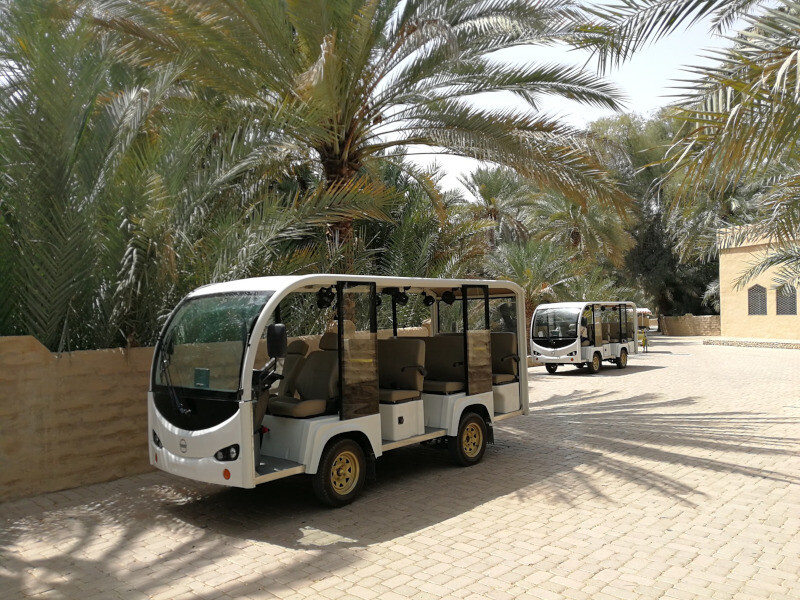 Al Ain Oasis Sightseeing Tour from Abu Dhabi Airport Road