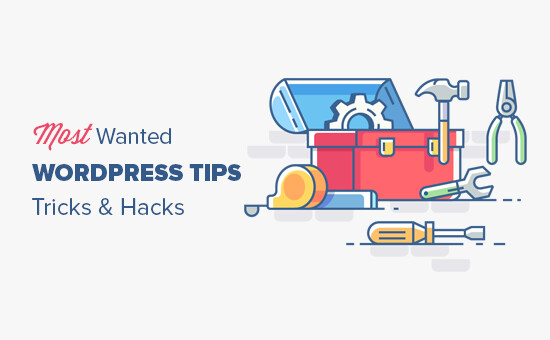 Try out some WordPress hints and tips