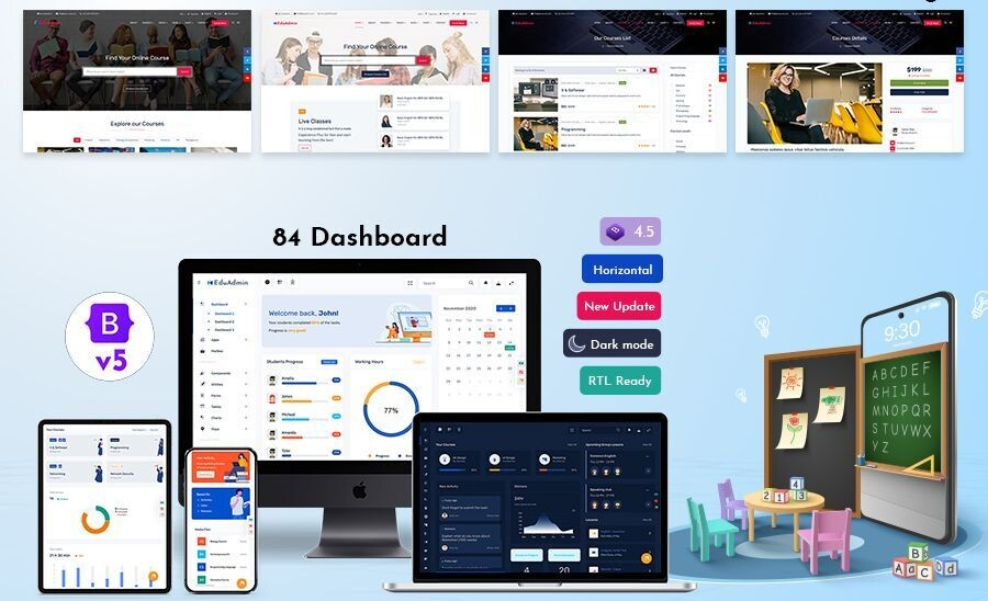 Reasons on why you should use Bootstrap 5 Admin Templates