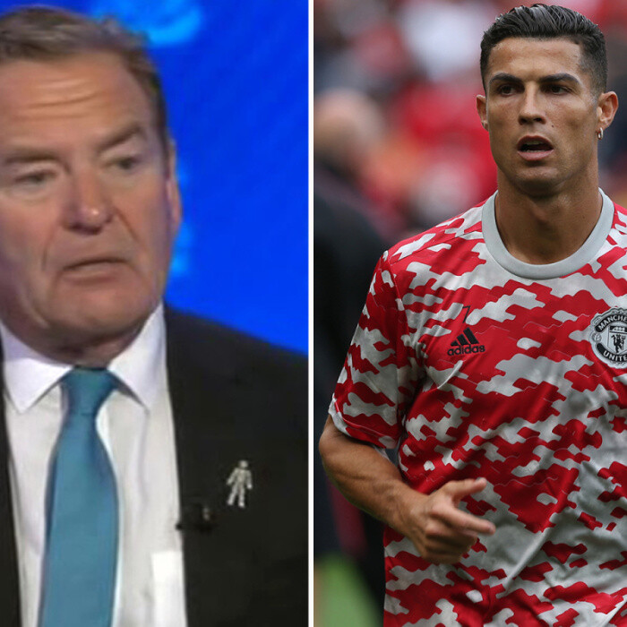 Jeff Stelling slates Man Utd training kit and says 'even Cristiano Ronaldo couldn't make that look acceptable'