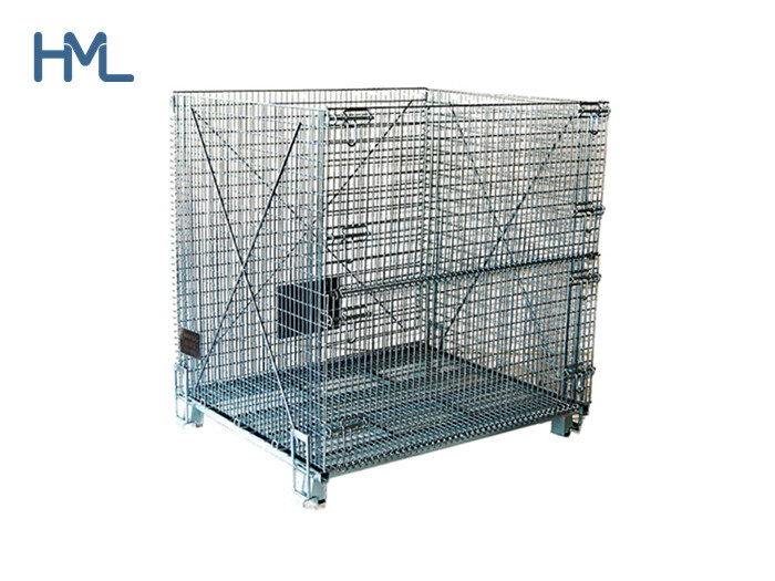 Making the Packing Easy in Warehouses with Storage Wire Mesh Containers