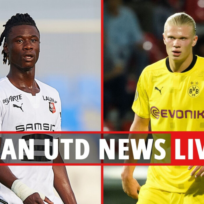 Man Utd transfer news LIVE: Camavinga battle with PSG, United unopposed in Haaland race, Varane latest