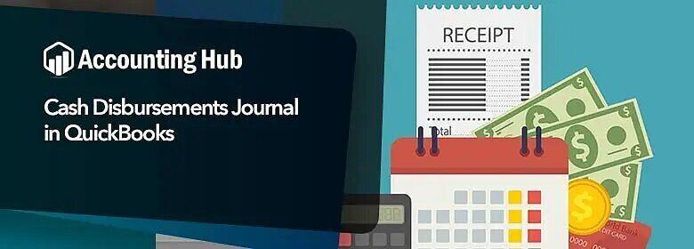 Cash disbursements journal in quickbooks