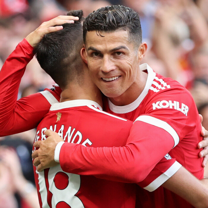 Cristiano Ronaldo admits he was 'really nervous' about second Man Utd debut but says he is 'so proud' to be back