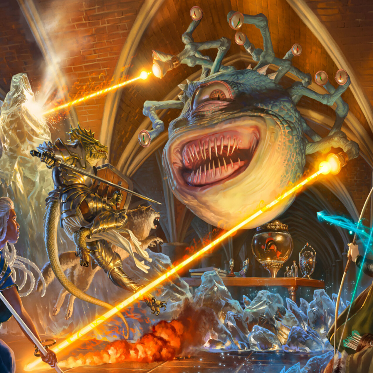 'Magic: The Gathering' goes on a 'Dungeons & Dragons' adventure