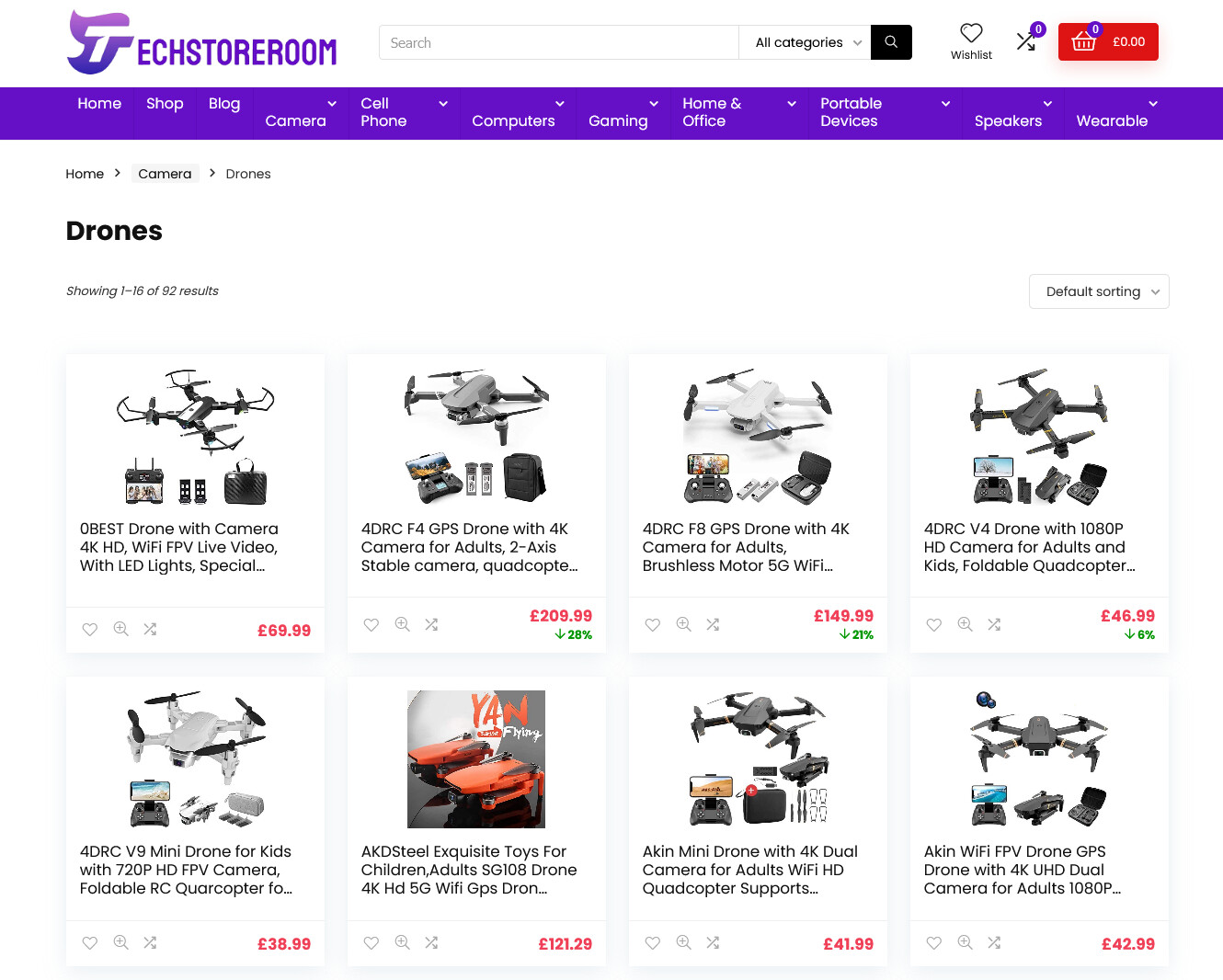 Cheap Camera Drone Best Drone for Kids Cameras Drones for Sale