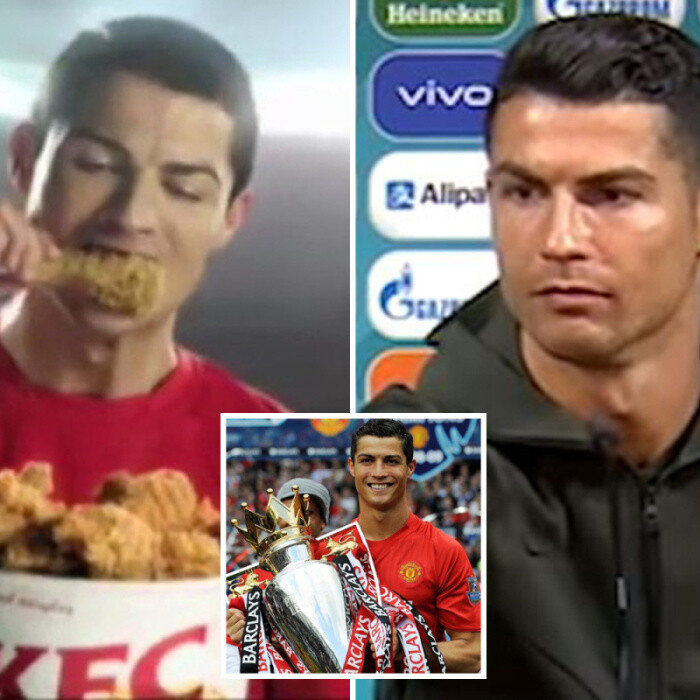 How Man Utd's Cristiano Ronald made millions with a string of junk food deals including Coca-Cola, KFC & energy drinks