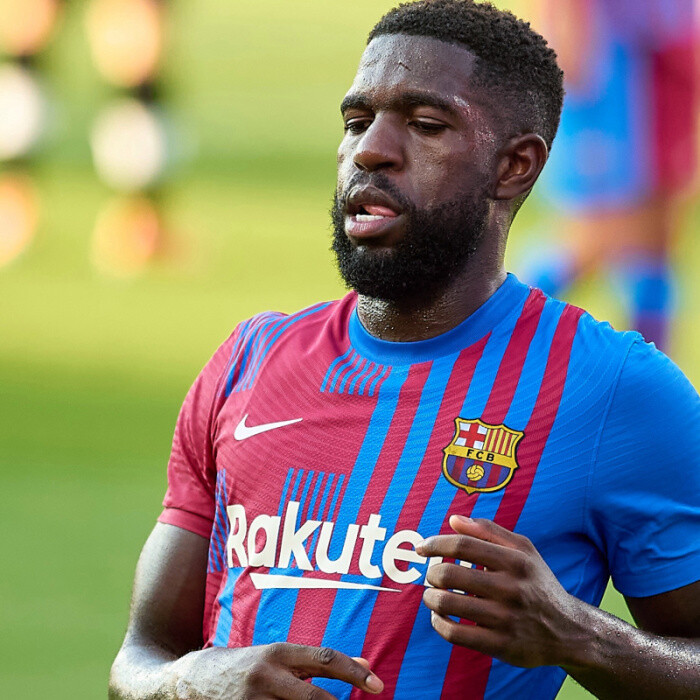 Barcelona 'will TERMINATE Samuel Umtiti's contract if he does not accept transfer offer from Ligue 1'