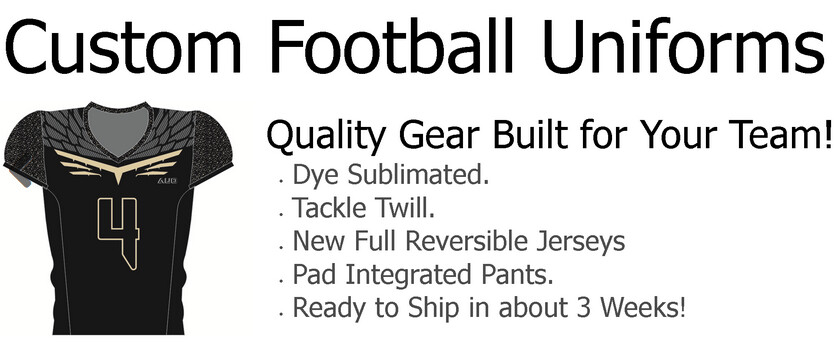 Get Youth Football Uniforms from Affordable Uniforms Online
