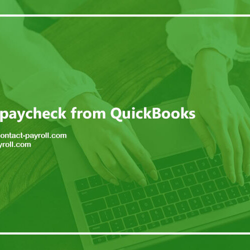 Effective steps to print paycheck in QuickBooks? | Contact Payroll