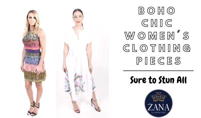 Boho Chic Women's Clothing Pieces Sure to Stun All