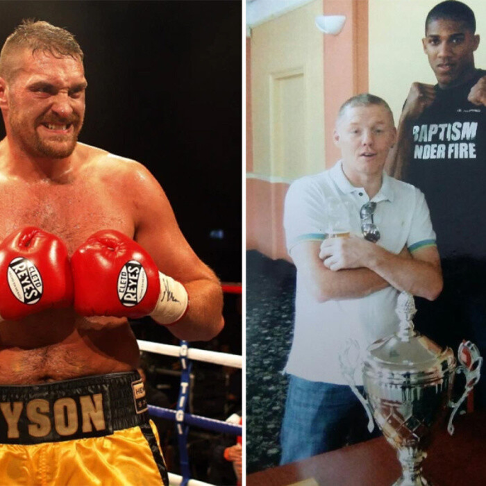 Anthony Joshua 'boxed Tyson Fury's head off' in secret sparring session after being offered Rolex if he could drop him
