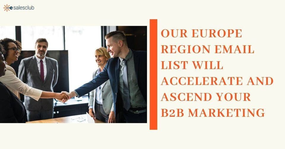 Europe Region Business Database   America's Most Trusted Data
