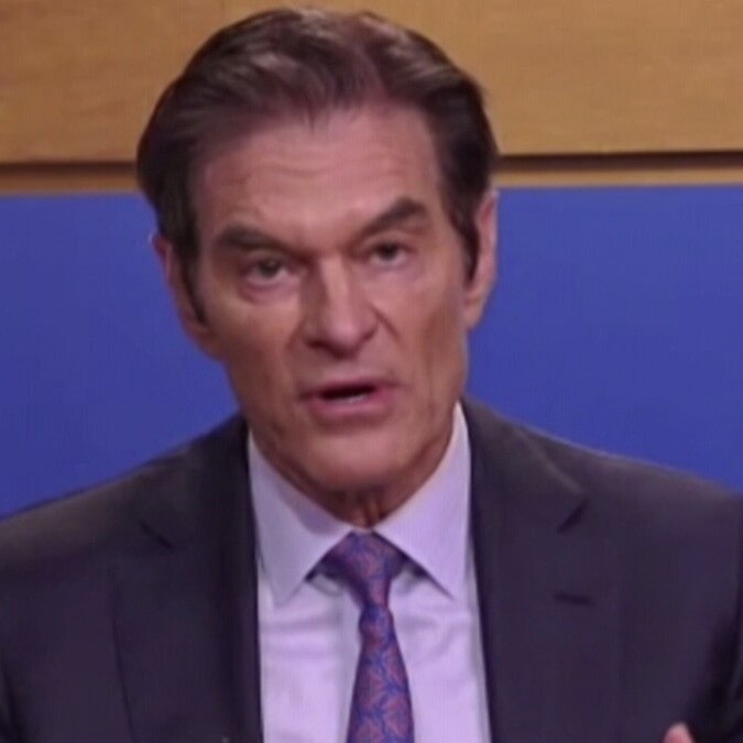 Dr. Oz Says Americans Need Better Physical, Mental Health Due to Pandemic